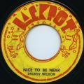 Delroy Wilson - Nice To Be Near (Jackpot)