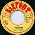 Delroy Wilson - Who Cares (Jackpot US)