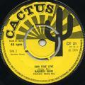 Maureen Davis - Own True Love (Cactus UK)