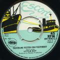 Little Roy - Yester-Me Yester-You Yesterday (Escort UK (Matador))