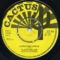 Lloyd Miller - Long Time Since (Cactus UK)