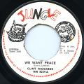 Clint Richards - We Want Peace (Jungle UK)