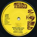Johnny Clarke - Peace And Love In The Ghetto (Third World UK)