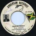 Stranger Cole, Gladdy Anderson - Skanking Monkey (Anderson Records)