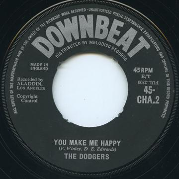 Dodgers - You Make Me Happy (Downbeat UK)