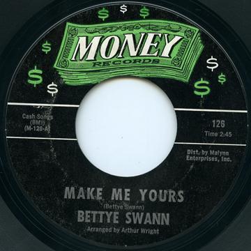 Bettye Swann Make Me YoursI Will Not Cry