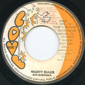 Bim Sherman Mighty Ruler