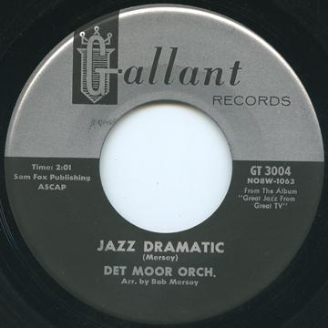 Det Moor Orch - Jazz Dramatic (Gallant US)