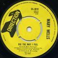 Mary Wells - Dig The Way I Feel (Direction UK)