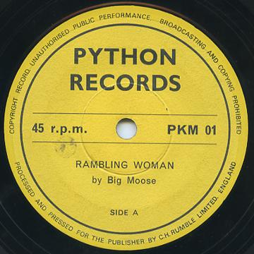 Big Moose - Rambling Woman (Python UK)