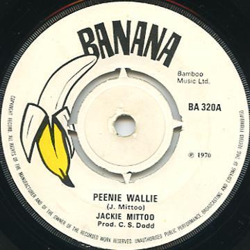 Jackie Mittoo - Peenie Wallie (Banana UK)