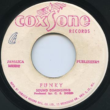 Sound Dimension - Funky (Coxsone)