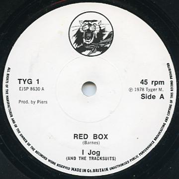 I Jog - Red Box (Tyger Label UK)