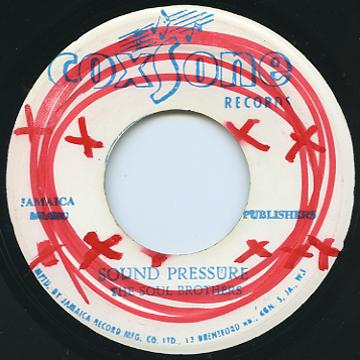 Soul Brothers - Sound Pressure (Coxsone 2nd (60's))