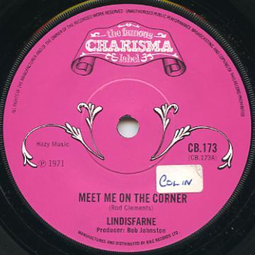 meet me on the corner record