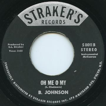 B Johnson - Oh Me Oh My (Straker's US)