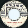 Lloyd Parks - Don't Put Your Eggs Into One Basket (Parks)