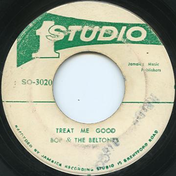Peter Tosh, Wailers - Treat Me Good (Studio One)