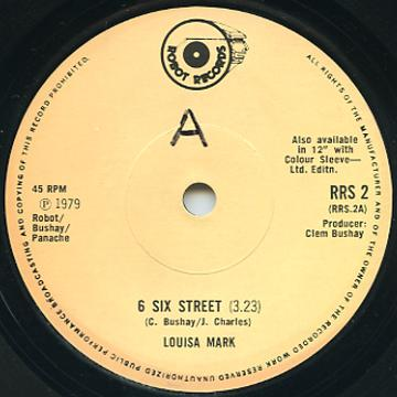 Louisa Mark - 6 Six Street (Robot Recods UK)