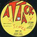 Gregory Isaacs - Don't Go (Attack UK)