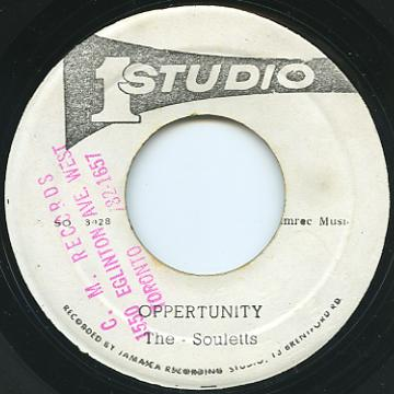 Soulettes - Opportunity (Studio One 2nd)