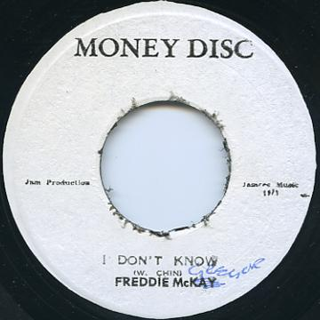 Freddie McGregor - I Don't Know (Money Disc)