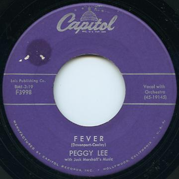 Peggy Lee - Fever (Capitol US)