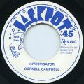 Cornell Campbell - Investigator (Jackpot UK-Re (Old Press))