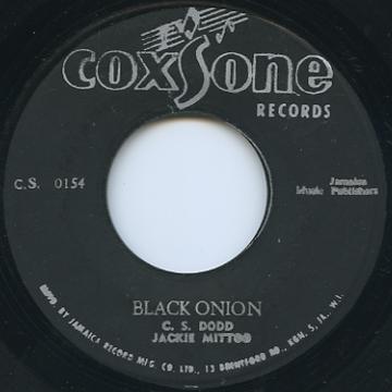 Jackie Mittoo - Black Onion (Coxsone (Black×Silver))