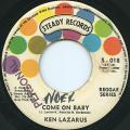 Ken Lazarus - Come On Baby (Steady)