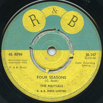 Maytals - Four Seasons (R & B UK)