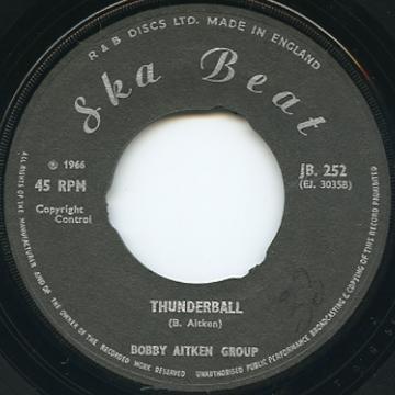 Bobby Aitken Group - Thunderball (Ska Beat UK)