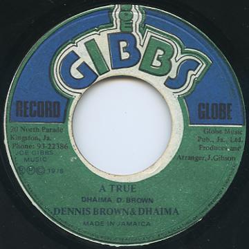 Dennis Brown, Dhaima - A True (Joe Gibbs)