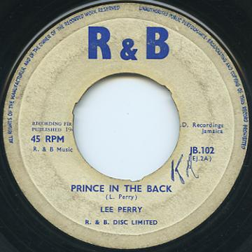 Prince In the Back / Don 't Copy