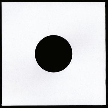 """10"""" White Plain Jacket with Hole"""