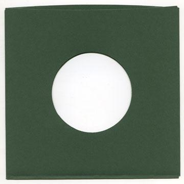 "7"" Green Heavyweight Paper Sleeve"