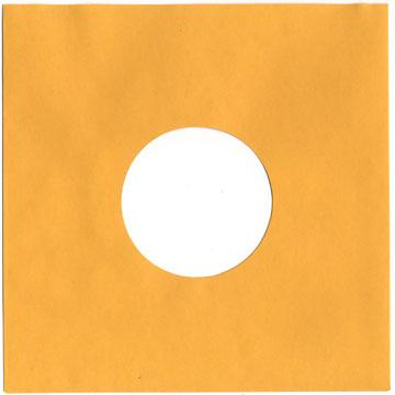 "10"" Gold Heavyweight Paper Sleeve"