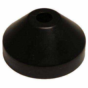 """7"""" Plastic #100105 -- Black"""