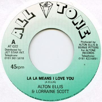 La La Means I Love You / La La Love
