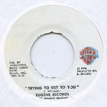 Eugene Record - Trying To Get To You (7