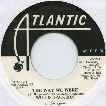 Willis Jackson - Way We Were (7