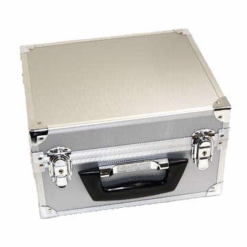 CD アルミ製ハードケース (40枚収納) -- シルバー