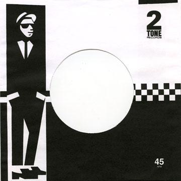"Label Paper Sleeve - 7"" 2 Tone Records Paper Sleeve (Import England)"