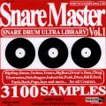Sampling CD - Snare Master Volume 1 (Snare Drum Ultra Library) (AIFF+WAV)