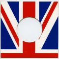 "Card Sleeve - 7"" British Flag Card (Import Canada)"