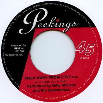 Walk Away From Love