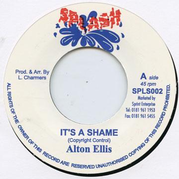 alton ellis it s a shame 7 レコード レゲエレコード ドットコム
