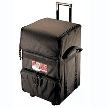 Record Bag - Roller LP & CD Caddy Semi Hard Case (Gator)