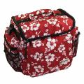 "Record Bag - 12""/LP Zomo  Bag -- Flower Parttern x Red (Zomo EU)"