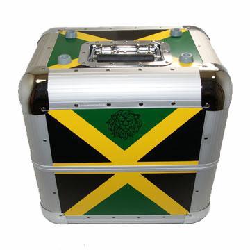 """Record Case - 12""""/LP Zomo Aluminium (Holds80) -- Jamaica (Zomo EU)"""